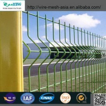 Wire Mesh Fence Trangle Bends Square Post