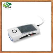 Mini Portable LED Solar Flashlight