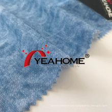 Denim Style Pattern Printed Elastic Fabric Knitted Fabric