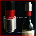 Smart Stainless Steel Vacuum Sealed Red Wine Storage Bottle Stopper Bottle Cap