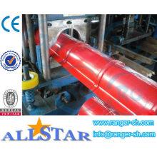 YX 312 techo cumbrera Color hoja de acero máquina formadora de rollos