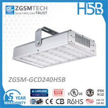 240W High Power Waterproof LED Industrial Lighting Warehouse High Bay Light