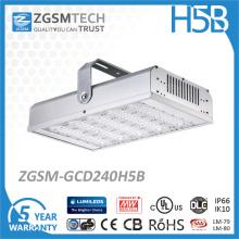 Luz alta industrial impermeável da baía do armazém da iluminação do diodo emissor de luz do poder superior 240W