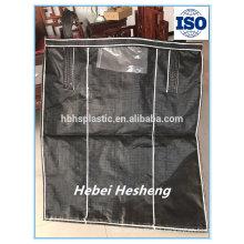 Aceptar pedido personalizado 100% PP tejido 1 tonelada jumbo bag para cemento de arena y productos químicos