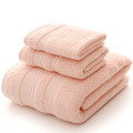 Albaricoque Blush Toalla de baño Set Toalla por mayor conjunto