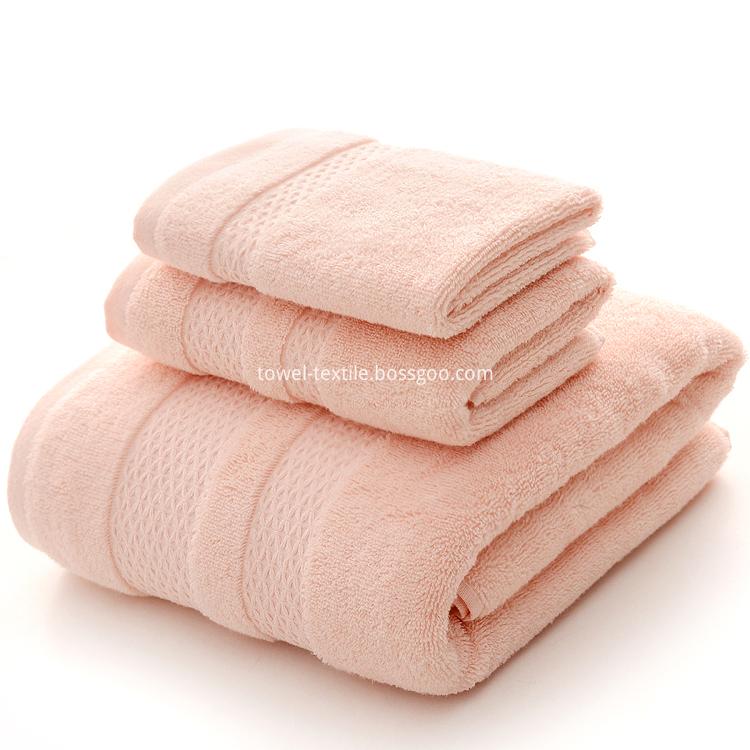 Apricot Blush Bath Towel Set