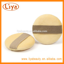 Haut Pflege weicher Baumwolle Puderquasten mit OEM-Band
