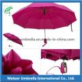 Alta qualidade 3 dobra guarda-chuva de moldura de aço automática