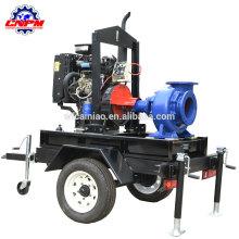 Bomba de agua accionada por motor diesel de alta calidad para el riego