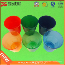 Customised High-End Clorful Water & Wine PS Plastic Glass