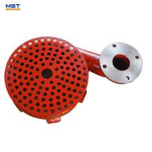 rotor de aço inoxidável / ferro fundido / borracha para bombas de água
