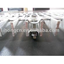 Braçadeiras para chão de aço
