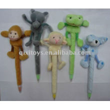 lovely plush animal pen