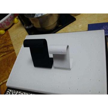 PU Metal Z Shaped Earring Display Stand Wholesale (ES-ZTE3)