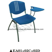Plastic Chair Office Chair with Rotaty Tablet