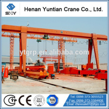 Mobile Single Girder Gantry Crane 10t For Road Construction Machinery