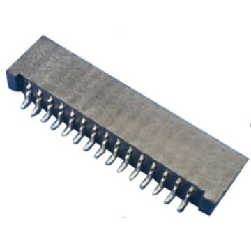 SMT Haaks, dubbel contact 1.25 FPC-connector