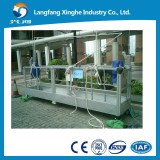 zlp630 suspended working platform, suspended lifting cradle ,construction gondola,building cleaning equipment