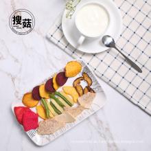 ISO-Zertifikat japanischer Snack Mix Gemüse Chips