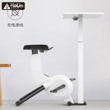 Bicicleta slim ciclismo indoor equipamentos de ginástica com mesa