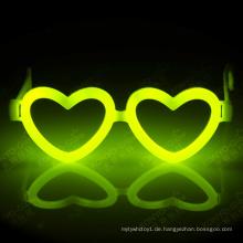 Holloween, Weihnachten und Party Favor Fantastische Herzform Glow Stick Brillen