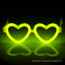 Holloween, Christmas and Party Favor Fantastic Heart Shape Glow Stick Eyeglasses