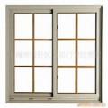 Fenêtre coulissante en aluminium de double vitrage / fenêtres en aluminium avec des grils