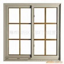 Doppelverglasung Aluminium Schiebefenster / Aluminium Fenster mit Grils