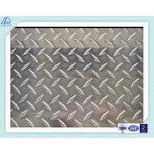 5052 Placa antideslizante de aluminio para piso de automóvil