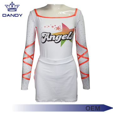 Varsity Uniforme Custom Long Top Cheer Varsity