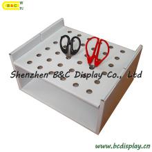 Contador de suministros de oficina PDQ, mesa de tijera PDQ, soporte de papel (B & C-D042)