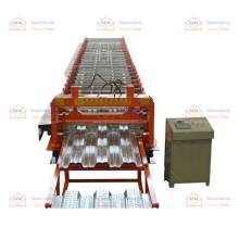 Enjoyat Floor Bearing Plate Steel Metal Decking Hanging Tile Sheet Roll Forming Making Machine Price
