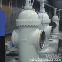 Válvula de compuerta de acero galvanizado