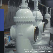 API6d Butt Welded Cast Steel Slab Gate Valve