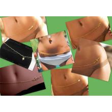 NEUE HEISSE reizvolle Bikini-Art- und WeiseTaillen-Ketten-Körper-Schmucksache-Bauch-Ketten