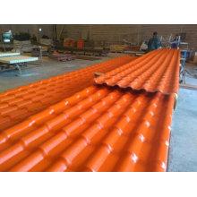 Painel da telha da parede do telhado da resina, telhado do painel do PVC