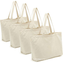 Cotton Canvas Tote Bags DIY Crafts Blank Plain Natural Canvas Bag Great Wedding Gift Canvas Craft Bags