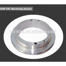 cnc machined steel parts chamfered flat washer China manufacturer in Zhejiang ningbo