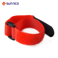 Elastic 100% Nylon Hook e Loop Strap para Bindling