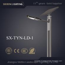 Réverbère solaire 15W - 160W avec panneau solaire