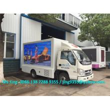 2016 Новый Euro IV Foton 4 * 2 уличный светодиодный мобильный рекламный экран продажа грузовика в Боливии