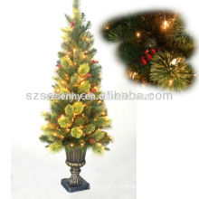 2016 Beautiful outdoor artifical LED Christmas tree