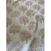 New arrival Little tree design 100% Polyester Jacquard Curtain fabric