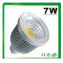 7W Dimmable/Non-Dimmable MR16 COB LED Spotlight