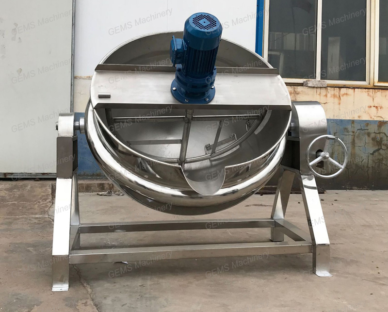 jacketed kettle 6