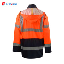 New Design Vests Safety Clothing Wholesale Cheap winter coat Safety Reflective Red Jacket