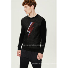 70% акрил 30% шерстяной пуловер мужчина вязать свитер