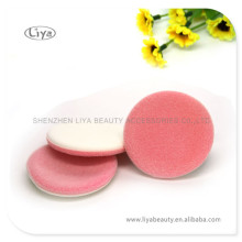 Multcolor Cosmetic Sponge Puff Makeup Flocking Puff