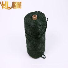 L'agriculture polypropylène spiltfilm 1 ply ficelle de foin fabrillated ficelle / pp corde de ficelle torsadée