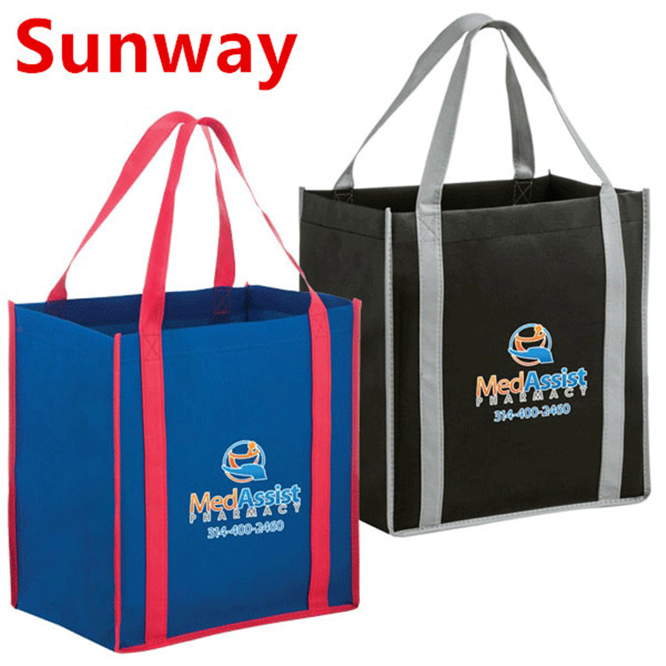 Non Woven Bag With Stand Up Bottom